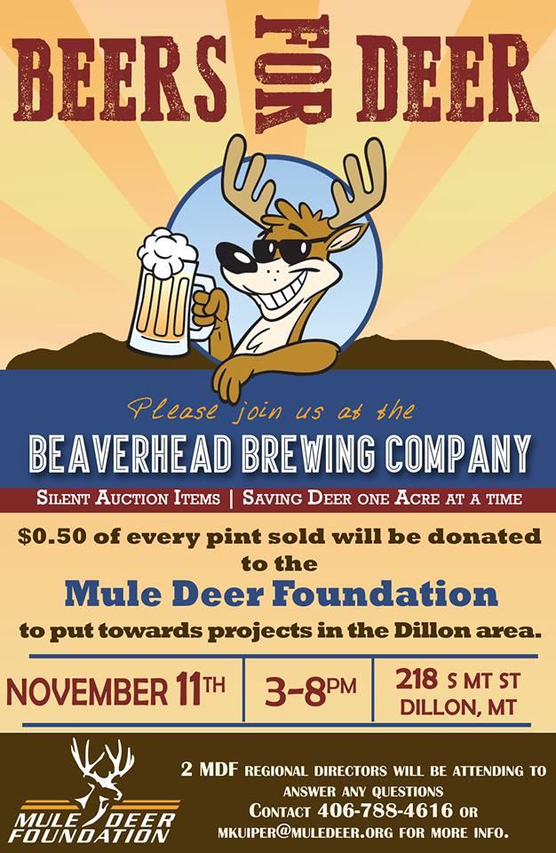 Beer for Deer poster