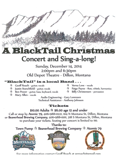 Blacktail Christmas